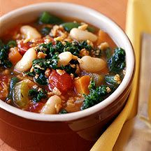 Weight Watchers Hearty Tuscan Vegetable Chowder...4 points