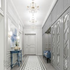 Do you want an entryway with Glamor and Sophistication? Let inspiring you. See more clicking on the image.