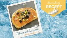 blog banner Páperové lievance Blog Banner, Cheesesteak, Mexican, Ethnic Recipes, Basket, Dessert Ideas