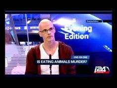 интервью с Гэри Юрофски в вечерних новостях (русская озвучка)