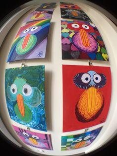 Birdymarble Wednesday 23-03-2016; NewBirds today; #M08PinkBirdBerry and #M05NeverTooMuch