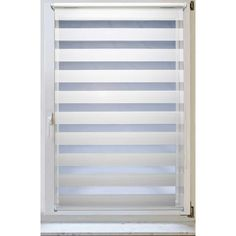Fensterrollo Doppelrollo Duorollo Sonnenschutz Sichtschutz mit Kettenzug und Klemmfix in WEISS, mit komplettem Zubehör und weissen Leisten, 80cm x 150cm: Amazon.de: Küche & Haushalt