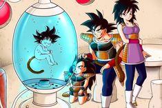 Dragon Ball Z Goku Saiyan Anime Poster