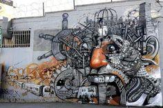 Rimx x El Nino de las Pinturas In NY, USA