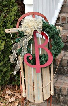 Repurpose an old sled.