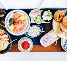 Build-Your-Own Bagel Station