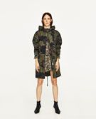 CAMOUFLAGE PRINT PARKA-View All-OUTERWEAR-WOMAN | ZARA United Kingdom