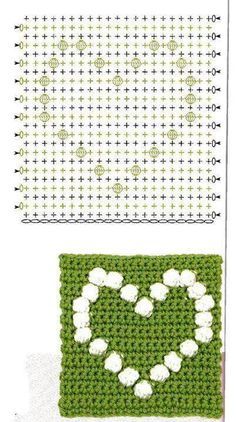Best 12 Crochet bobble heart blanket pattern more patterns like this – Artofit patterns afghan patterns crochet patterns Crochet Bedspread Pattern, Granny Square Crochet Pattern, Crochet Diagram, Crochet Chart, Crochet Squares, Crochet Blanket Patterns, Crochet Doilies, Bobble Stitch Crochet, Crochet Stitches
