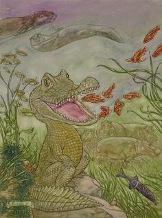 The Little Crocodile   Angel Dominguez