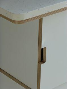 laminated plywood kitchen - Google Search