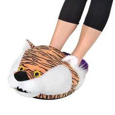 LSU Tigers Mascot Foot Pillow