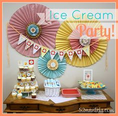 Ice Cream Birthday Party