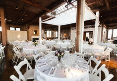 Couple Marries in a Former Electrical Parts Factory — Wedding Photos Here! | TheKnot.com