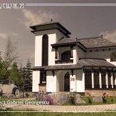casa-cu-etaj-59-1 Design Case, My House, House Design, Traditional, Home, Houses, Romania, Ad Home, Homes