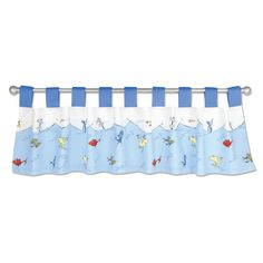 "Found it at Wayfair - Dr. Seuss 1 Fish 2 Fish 53"" Curtain Valance"
