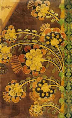 Joseph Mehoffer: Flower, 1901