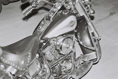 Friend's Harley - Dad's Pentax ME Super by Eric Woods on 500px