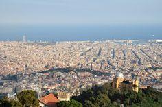 Vista de Barcelona desde Tibidabo  www.recadosyrecaditos.es
