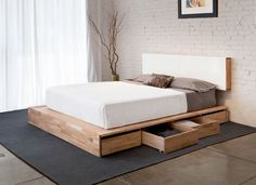 Mash Studios LAX Bed with Storage Canada / 침대 제작 하고 싶네