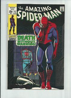 AMAZING SPIDER-MAN #75 Silver Age gem feat Lizard & Silvermane! GRADE 8.0 http://r.ebay.com/dOJHLm
