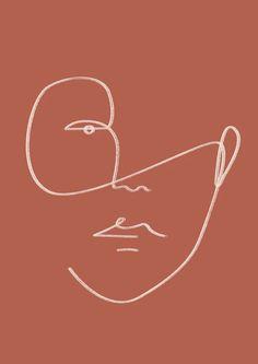 illustration line art graphics - illustration line art + illustration line art graphics + illustration line art simple Art Sketches, Art Drawings, Abstract Drawings, Minimalist Art, Minimalist Poster, Oeuvre D'art, Line Drawing, Wall Prints, Canvas Prints