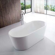 Petite baignoire ilot ovale pour salle de bain design 120x80   Rue du Bain M109, Car Audio Installation, Wellness Spa, Bathroom Inspo, Showroom, Pop Up, Bathtub, Marts, Rome