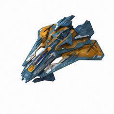 3d scifi model - SciFi_CR6... by GrafxBox