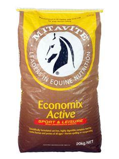Economix Active® | Mitavite  #mitavite #horsefeeds #horses #equine #equestrian #economixactive #economix #mediumenergy #bodyconditioningfeed #costeffective #horsesinwork