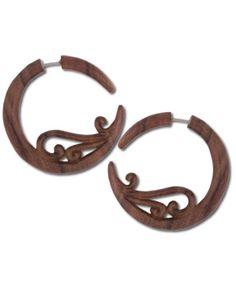 SoulFlower-NEW! Fairie Wood Earrings-$28.00