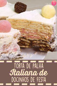 Receita de torta de palha italiana de três sabores diferentes ec47504c643