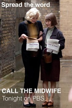Do yourself a favor and watch this show! Call the Midwife... I cry out of either joy or heartbreak every single episode! Netflix is amazing!