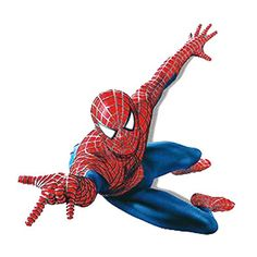 Winhappyhome Cartoon SpiderMan Kids Wall Stickers for Bedroom Living Room Background Removable Mural Drawings Home Decor Decals * You can find out more details at the link of the image. (This is an affiliate link and I receive a commission for the sales)