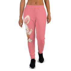 Cute Bunny - Warm & Plush Women's Joggers #SweatPants #girls #WomanClothes #women #WomanClothing #woman #girl #spring #sweats #summer Joggers Womens, Cute Bunny, Hypebeast, Plush, Sweatpants, Warm, Clothes For Women, Woman, Trending Outfits
