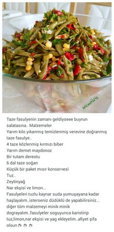 … – Salata meze kanepe tarifleri – The Most Practical and Easy Recipes Appetizer Salads, Appetizers, Turkish Salad, No Gluten Diet, Turkish Recipes, Light Recipes, Diet And Nutrition, Fried Pickles, I Foods