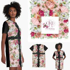 Designed by South African artist, Cherie Roe Dirksen.  #cherieroedirksenart #dresses #fundresses #summerdresses #fashiontrends