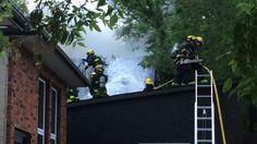 Crews fighting fire in Kensington Street home - http://www.newswinnipeg.net/crews-fighting-fire-in-kensington-street-home/