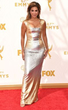 Liz Hernandez from 2015 Emmys: Red Carpet Arrivals  In Edition by Georges Chakra