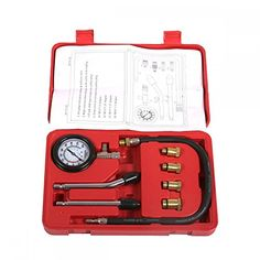 New Petrol Engine Cylinder Compression Tester Kit Gauge Tool Automotive *** You can find more details by visiting the image link. (This is an affiliate link) Tool Boxes For Sale, Tool Box On Wheels, Truck Tool Box, Home Entertainment Furniture, Box Houses, Tool Organization, Truck Bed, Car Shop, Autos