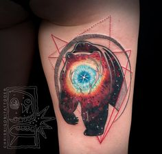 Chris Rigoni's Tattoos Play With The Mind By Combining Modern And Traditional Art