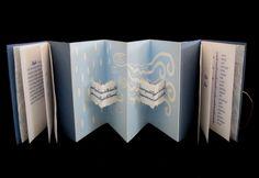 Handmade Books Artists | Sharp Handmade Books - Portfolio of Artist's Books - Flowing Essence