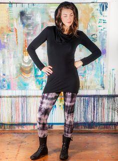 Stretch Hemp Tie-Dye Leggings (now full length!) | Tinctoria Designs