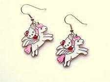 Hello Kitty unicorn earrings
