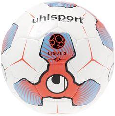 Uhlsport Ligue 2 Club Training in weiß/fluo rot/eisblau/schwarz (hervorragender Trainingsfussball). Ab sofort bei uns online und im Store in Hainburg erhältlich.