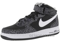http://www.getadidas.com/nike-air-force-1-mid-black-white-sports-shoes-new-release.html NIKE AIR FORCE 1 MID BLACK/WHITE SPORTS SHOES NEW RELEASE Only $54.50 , Free Shipping!