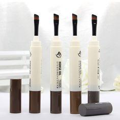 새로운 메이크업 눈썹 연필 펜 브러시 미세 증강 방수 아이 브로우 화장품 눈썹 지속 완벽한 젤 eyebrowM02013