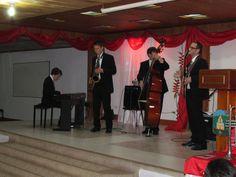 Día 1: Concierto en Apía, Risaralda del Ensamble de Jazz de La Escuela de Música de Juilliard. Jazz Camp Colombia 2012.