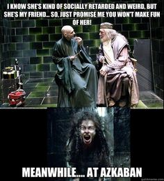Harry Potter - Mean Girls meme. How do they do it? Works out each time.