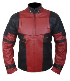 Deadpool / Wade Wilson / Ryan Reynolds Jacket by MyLeatherDesigns