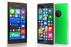 Microsoft reveals three new Lumias with improved camera features.