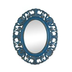 This gorgeous oval wall mirror takes a touch of vintage style and makes a traditional masterpiece.You can hang it in the entry or hall, above the bathroom sink or in your bedroom.